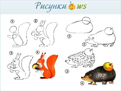 презентация рисование животных 2 класс стройматериалов строительные